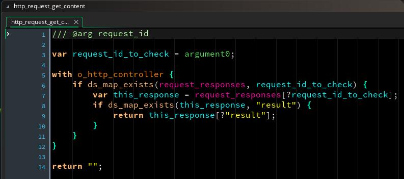 Get HTTP Result