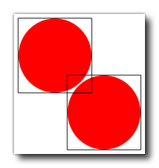 Collision Example Using Circles