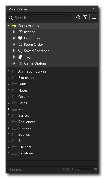 The New Asset Browser
