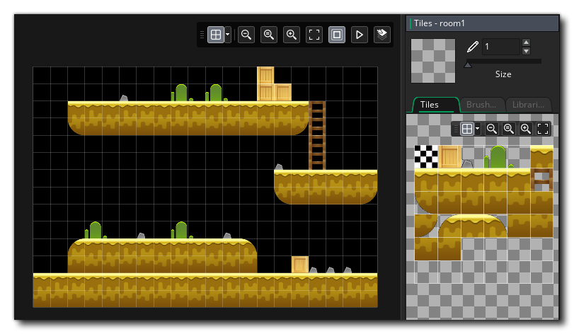 The Final Tilemap and Tiieset Created
