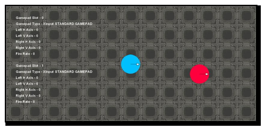 Gamepad Debug Test