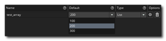 Object Editor List Menu