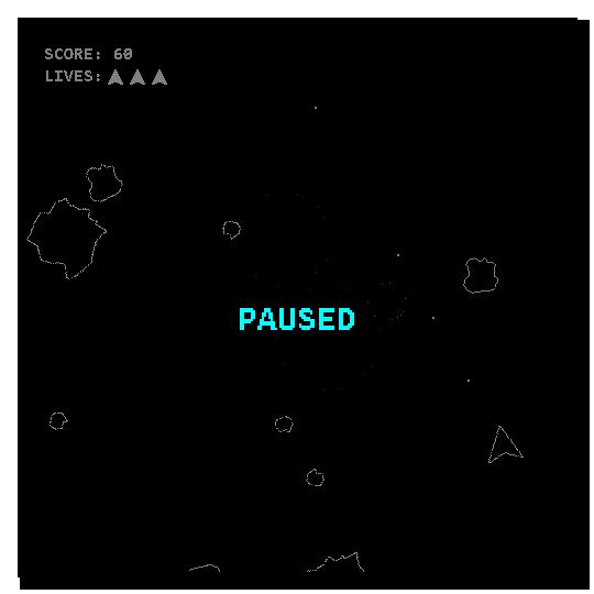 Space Rocks Paused