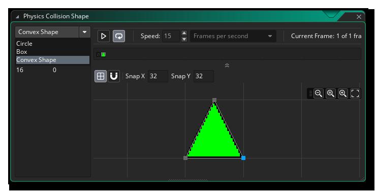Set Fixture Editor To Polygon Shape