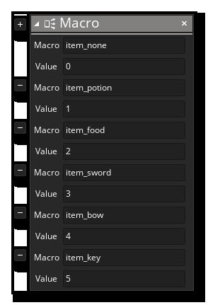 Inventory Item Macros