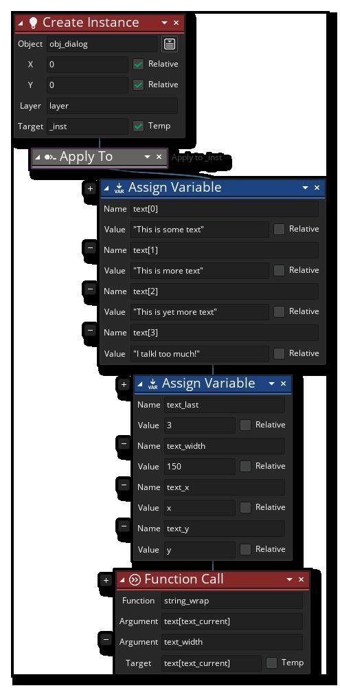Create Dialog Instance